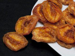 Как называется сушеный персик