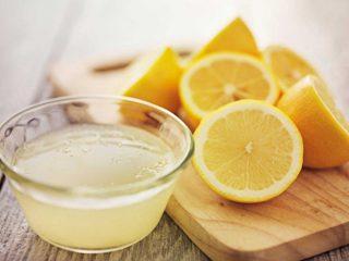 Сок лимона: рецепты в домашних условиях
