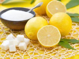 Лимон с сахаром: польза и вред для организма