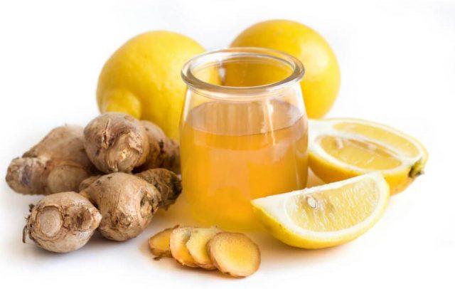 Имбирь с лимоном рецепт здоровья как принимать