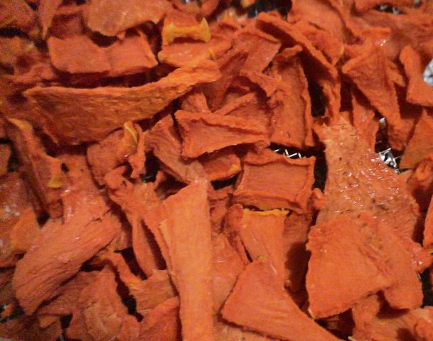 Сушеная тыква в сушилке рецепт