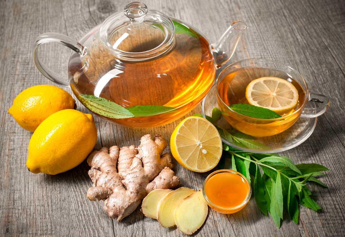 Имбирь с лимоном можно похудеть