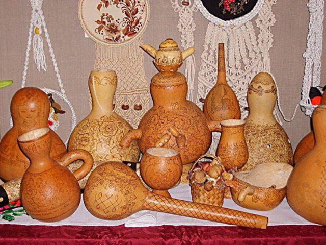 Бутылочная тыква (лагенария) описание, фото, сорта, как выглядит, выращивание