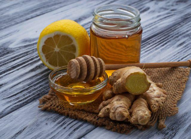 Имбирь с лимоном и медом рецепт здоровья для похудения рецепт