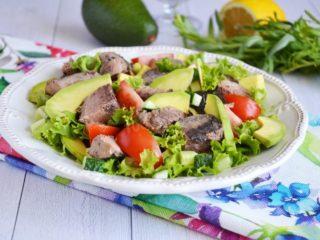 Рецепты салата с тунцом и авокадо