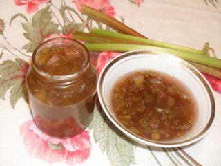 Джем из ревеня, вкусные рецепты на зиму пюре и желе