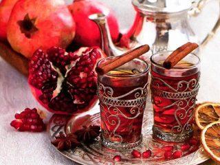 Турецкий гранатовый чай: состав, чем полезен, как заваривать
