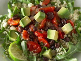 Рецепты киноа с авокадо