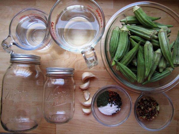Бамия маринованная польза, рецепт приготовления, хранение
