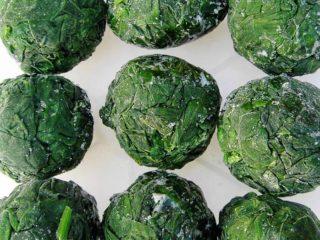 Как приготовить замороженный шпинат