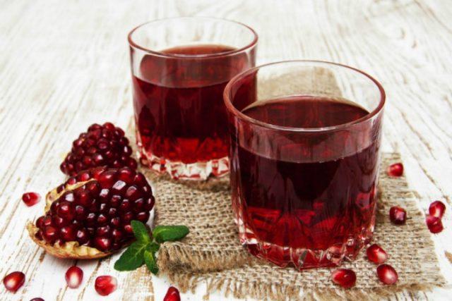 Гранатовый сок польза и вред, сколько можно пить, как выбрать, калорийность
