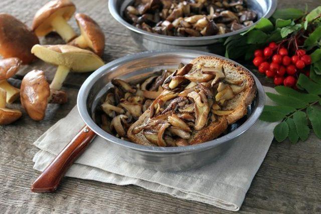 Жареные маслята вкусные рецепты приготовления на сковороде, сколько жарить до готовности, фото,