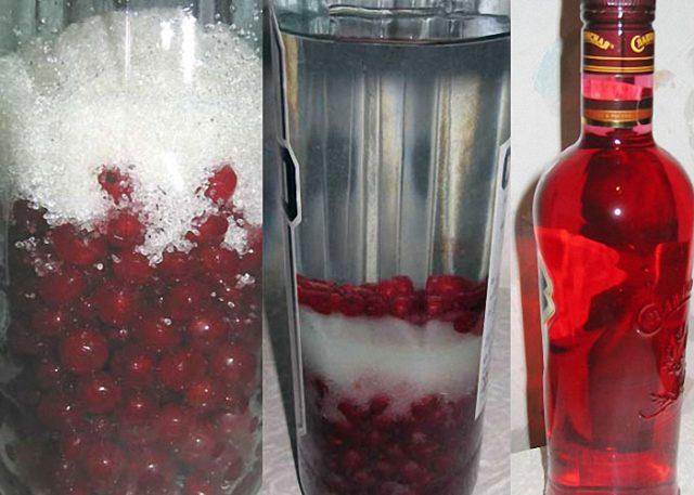 Домашняя настойка из красной смородины на водке, спирту, самогонке