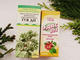 Масло туи при аденоидах для детей: отзывы, инструкция, лечение