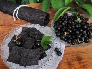 Пастила из черной смородины в домашних условиях