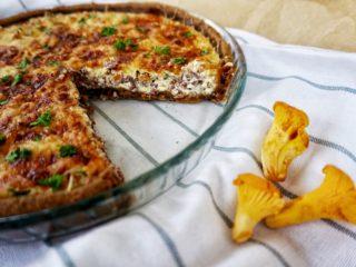 Пирог с лисичками: простые рецепты с фото