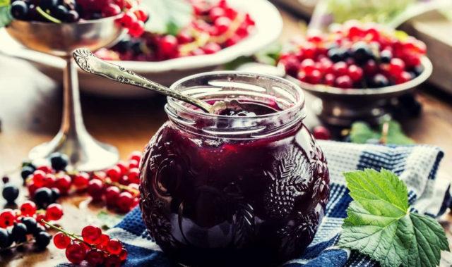 Варенье из черной и красной смородины рецепты ассорти