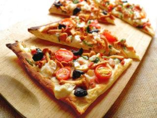 Пицца с лисичками: рецепты с фото