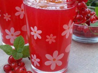 Рецепты сока из белой и красной смородины на зиму