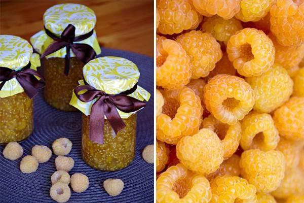 Варенье из желтой малины на зиму рецепты приготовления с фото
