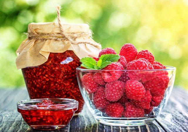 Варенье из малины без сахара пошаговые рецепты на зиму с фото