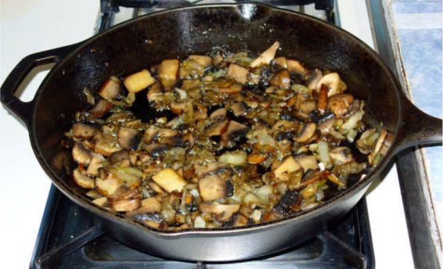 Как жарить моховики на сковороде