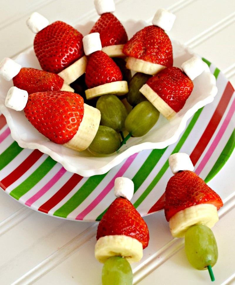 видно новогодние десерты рецепты с фото из фруктов простота
