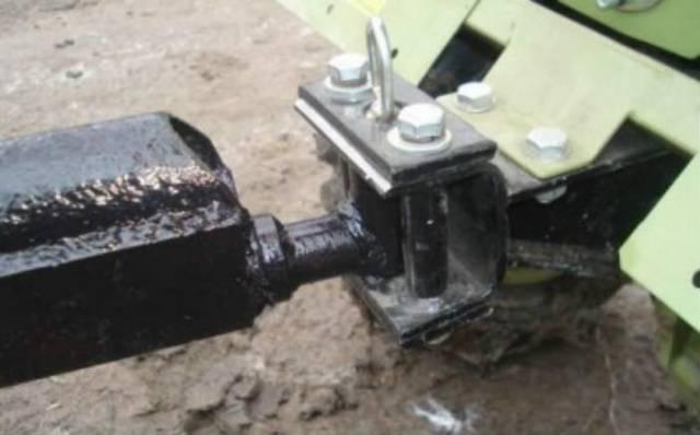 Чертеж прицепного устройства для мотоблока