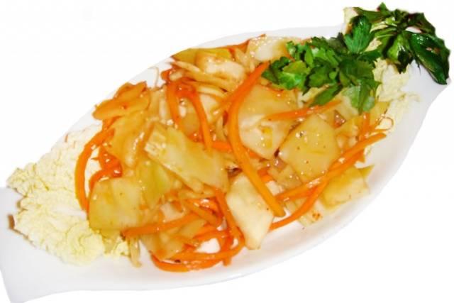 Корейская острая капуста рецепт в домашних условиях