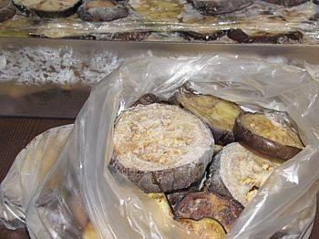 Заморозка баклажанов на зиму в домашних условиях