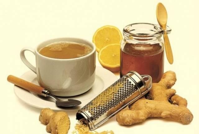 Имбирный порошок с медом для потенции
