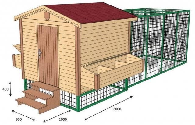 Зимний курятник: строим своими руками 34