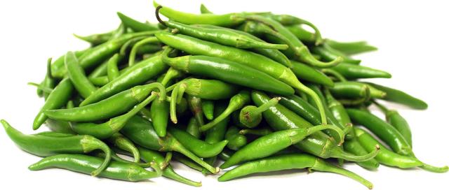 зеленый горький перец на зиму