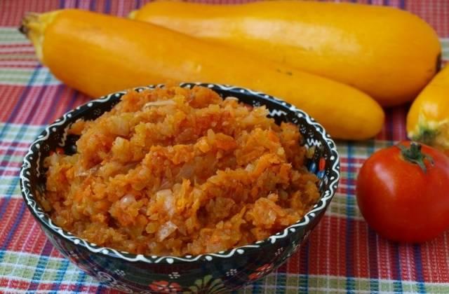 Рецепт кабачковой икры пошаговый фото рецепт