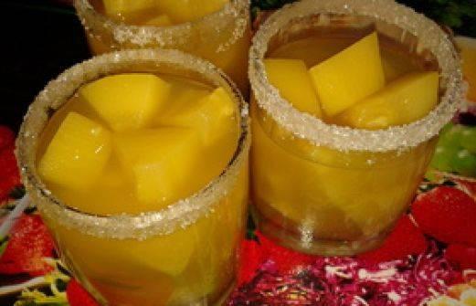 Компот из тыквы на зиму как ананас