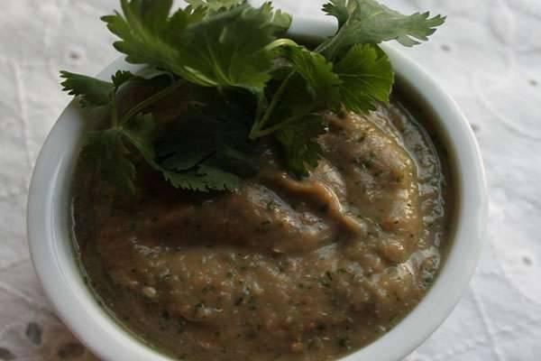 зеленая аджика рецепт на зиму с фото