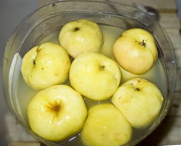 мочить яблоки рецепт