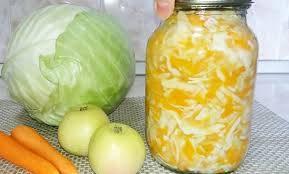 Маринованная капуста с лимонной кислотой