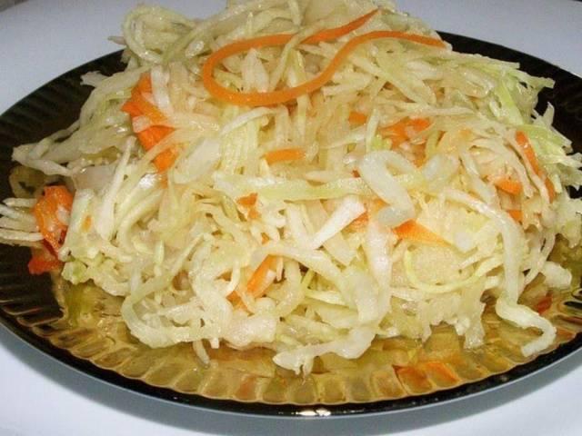 Классический рецепт засолка капусты на зиму в