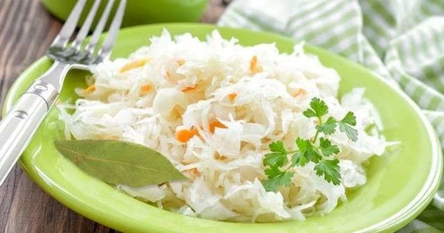 Рецепт квашеной капусты с сахаром и хреном