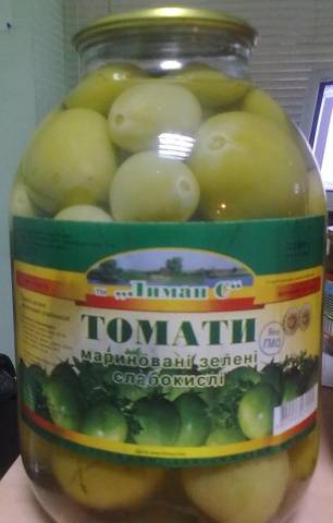 рецепт зеленых помидор как в ссср продавали в магазинах