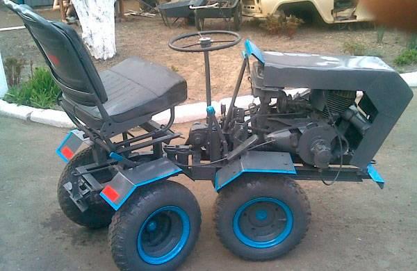 Трактора переломки своими руками чертежи 384