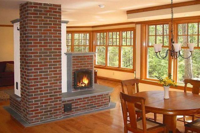 Количество дров на зиму для печи дома