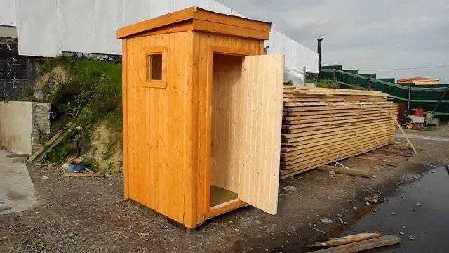 Как построить деревянный туалет своими руками фото 28