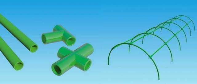 Трубы пластиковые для парника своими руками