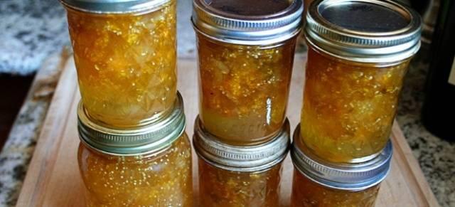 Варенье из крыжовника и апельсина на зиму Царское, Изумрудное
