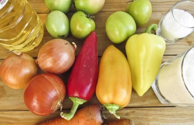 Зеленые помидоры на зиму простой рецепт
