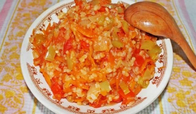 Закуска из зеленых помидор на зиму