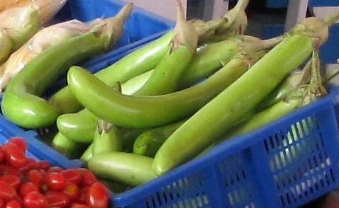 Зеленые баклажаны семена, сорта