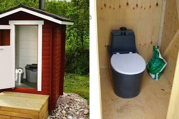 Дача своими руками туалет недорого